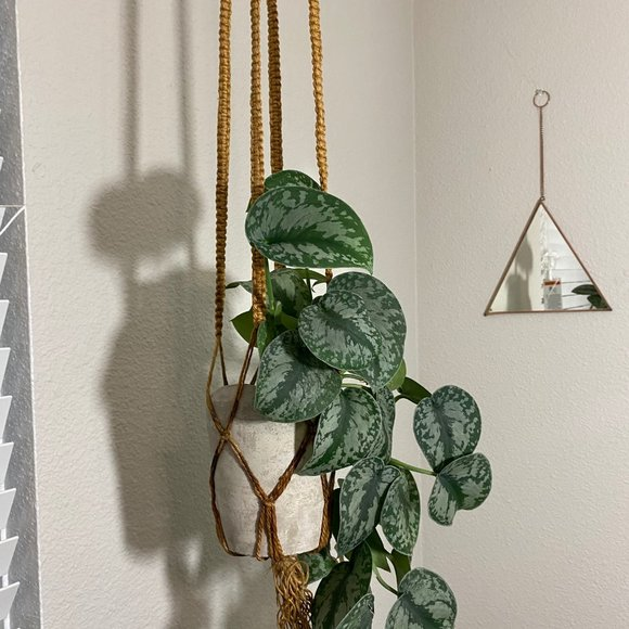Vintage Twine Hand Crafted Macrame Plant Holder